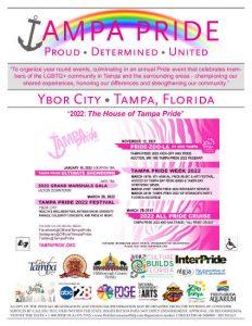 Tampa Pride 2022 Sponsorship Brochure
