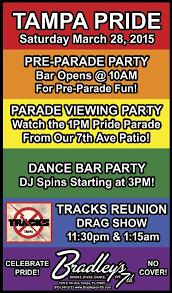 Bradley's Tampa Pride 2015 Poster